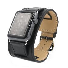 Genuine Leather Watch Strap Bracelet Wrist Band For Apple Watch 38/42mm
