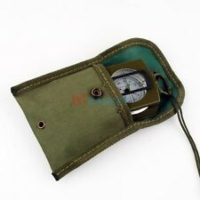 New Pocket Military Army Geology Metal Compass for Outdoor Camping Hiking