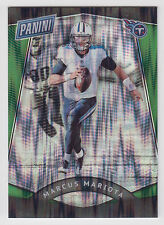 MARCUS MARIOTA 2017 Panini National NSCC Gold Pack Green Wave #11 #5/5 Titans