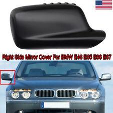 Passenger Right Side Mirror Cover Cap 51167074236 Fit for BMW E46 E65 E66 745i