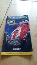SCALEXTRIC CATALOGUE - 50 YEARS EDITION 2007 POCKET SIZE