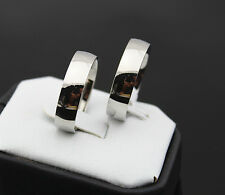 wholesale 8pcs men's women's polish band Stainless steel Rings Jewelry lots