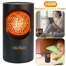 New ListingPortable Mini Space Heater Electric 300W Hot Fan Winter Room Home Office Heater