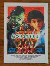 Filmplakatkarte / moviepostercard   Little Monsters  Fred Savage, Howie Mandel