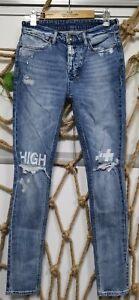 NEW KSUBI CHITCH FURY SKINNY LEG BLUE MEN'S JEANS 8 SIZE 28-40 US FREE SHIPPING