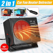 New 300W Electric Car Truck Fan Heater 12V Defogger Defroster Demister Portable