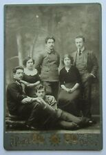 Odessa.Vintage photo men and woman military.Jewry