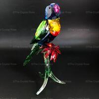 RARE Retired Swarovski Crystal Rainbow Lorikeet 5136832 Mint Boxed Bird Parrot