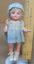 Antique 1925 Armand Marseille 'Just Me' Doll Painted Bisque Sleep Eyes w/Clothes