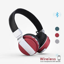 Bluetooth Headset Wireless Headphone Built-in Microphone iPhone Samsung Pixel