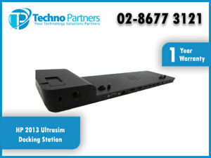 HP 2013 UltraSlim Docking Station D9Y32AA#ABG Compatible with HP Laptop/Tablets