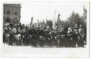 Hungary WWII 1941 May  the 25th Yugoslavia Szabadka  Horthy  original photo