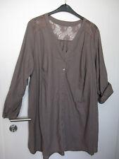 46576a52b94487 Damen-Blusen für Kellner Tunika aus Leinen-Mischung günstig kaufen ...