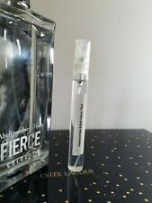 Abercrombie & Fitch FIERCE Cologne 10 ml  Spray New in Glass Atomizer 0.33 oz