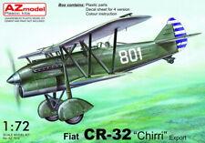 """AZ Model 1/72 Fiat CR-32 """"Chirri"""" Export # 7612"""