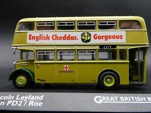Atlas Editions 1:76 Great British Buses LINCOLN LEYLAND TITAN.