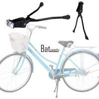 Two Leg Aluminum Alloy Kickstand Bicycle Bike Double Kick Stand Black BTSY