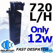 Serenity 720lph Internal Power Filter 12w SIPF720 Clean Aquarium Fish Tank