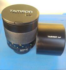 Tamron SP Adaptall 500mm f/8 con adattatore Canon usato -adattabile a ogni marca