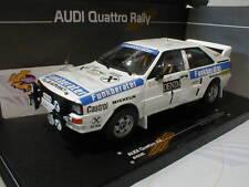 Sunstar Rallye-Modellautos von Audi im Maßstab 1:18