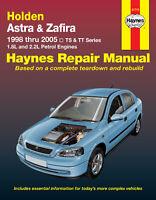 Holden Astra TS 1998-2005/Zafira TT 2001-2005 Repair Manual