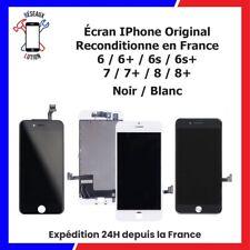 ECRAN POUR IPHONE 6/6Plus/6S/6S+/7/7+/8/8+ NOIR / BLANC (ORIGINAL RECONDITIONNE)