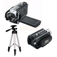 "FHD 1080P Digital Video Camcorder 16X Zoom DV Camera with 40"" Tripod Black"