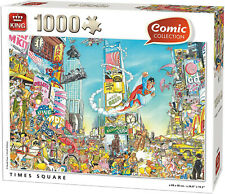 King Puzzle, 1000 Teile, Comic Selection