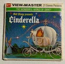 1965 View-Master Walt Disney CINDERELLA B318 - 3 Reel Set + Booklet