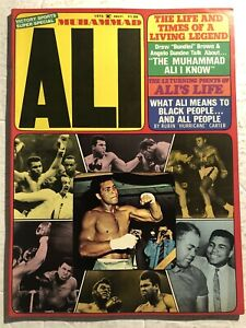 1975 Boxing MUHAMMAD ALI 66 Pages ALL DEVOTED TO CASSIUS CLAY Ali Life and Times