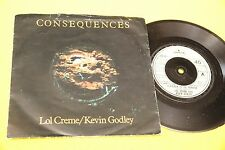 "LOL CREME KEVIN GODLEY 7"" 5 O' CLOCK ORIG UK 1977 EX CON COPERTINA"