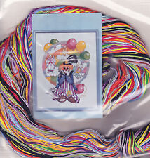 Counted Cross Stitch Kit:  Clown Dreams, Design Works 9243