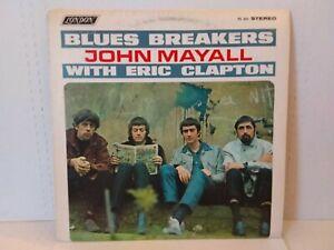 JOHN MAYALL w/ ERIC CLAPTON : BLUES BREAKERS Record Album - London PS 492 EX/VG+