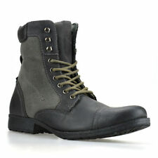 Red Tape Biker Lace Up Boots for Men