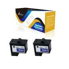 ABvolts 2Pcs Compatible T0529 Black 10N0016 Ink Cartridge for Dell Photo 720