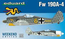 Eduard 84121 1:48th scale Weekend Edition Focke-Wolf Fw 109A-4