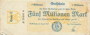 Germany 5 Million Mark 1923