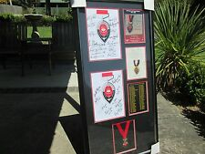 ESSENDON 50 YEARS OF CRICHTON MEDALISTS / 1957 - 2007 SIGNED & FRAMED