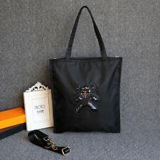 Nylon CrossBody Bag/Tote Bag With Logo Shinny Bear LXW=34.5X38CM