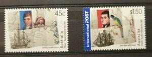 Lot 2 timbres neuf ** émission commune Australie 2002 N°2026/27