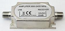SAT-InLine-Verstärker, 20 dB, Leitungsverstärker