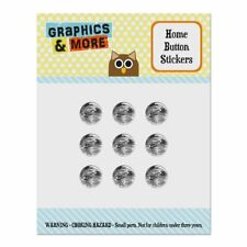 Snow Camouflage Home Button Stickers Fit Apple iPhone