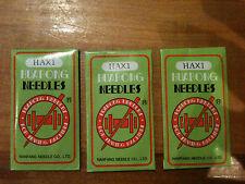 New!!30PCS Domestic Sewing Machine Needles HAX1,15x1 SIZE 75/11, 80/12, 90/14