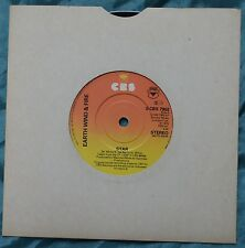 """Earth Wind & Fire Star 7"""" Single S CBS 7902 – Very Good Condition"""