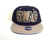 SWAG WOODLAND BLACK/KHAKI Snapback Cap