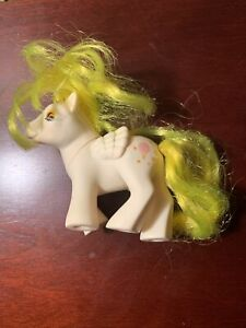My Little Pony Vintage Beddy Bye Eye BBE G1 Pegasus Baby Lofty Hasbro Bradley 86