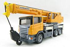 Siku 1859 - Scania Liebherr 3-axle Telescopic Cran Truck - Scale 1:87