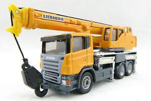 Siku 1859 - Scania Liebherr  LTF 1035-3.1 3-axle Mobile Crane Truck - Scale 1:87