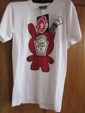 Kid Robot petit coin Ketchup T Shirt-Taille S