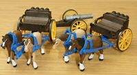 PLAYMOBIL Western Horse Drawn Carriages
